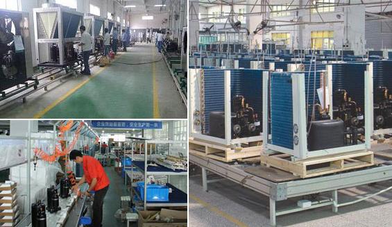 10年专业热泵生产厂家,生产基地约5万平方!